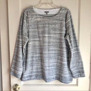 Talbots Grey Crew Neck Sweater